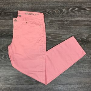 •NY&Co• Coral Skinnies